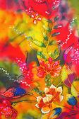 Flores de padrão — Fotografia Stock