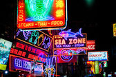 Signs in Pattaya — Stockfoto