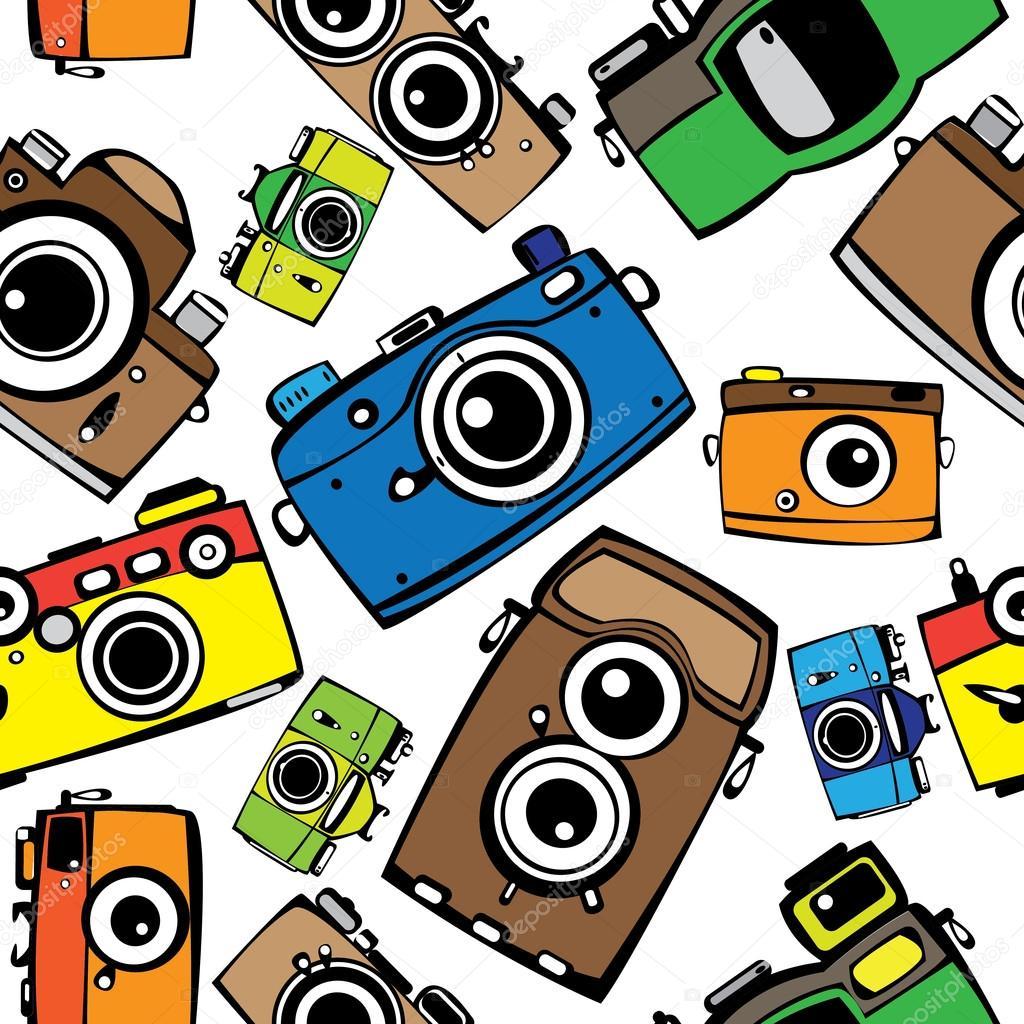 Displaying 16> Images For - Vintage Camera Pattern...