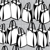 Wzór papieru torby na zakupy — Wektor stockowy