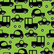Icons of car seamless pattern — Stock Vector