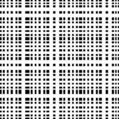 Monochrome geometric ornament seamless pattern — Stock Vector