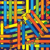 Cigarette seamless multicolored pattern — Stock Vector