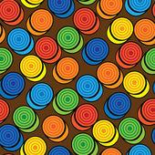 Coloridos patrones sin fisuras las damas — Vector de stock