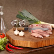 Foto Stock: Sirloin pork