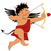 Bad Cupid — Stock Vector