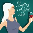 Ladies' Night Out — Stock Vector #29197107