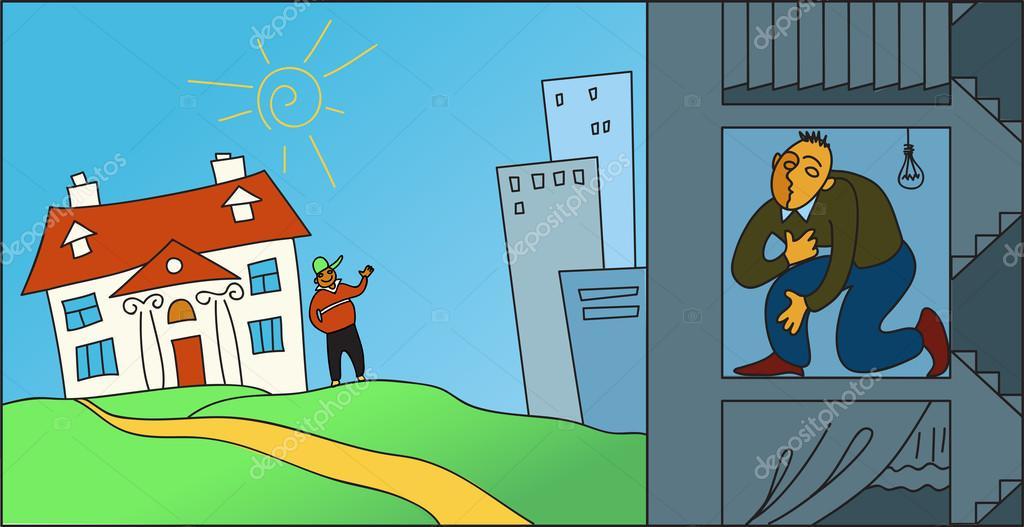 suburban life vs city life