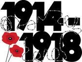 World War One — Stock Vector