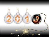 2013 new year — Stock Vector