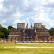 Chichen Itza Warriors Temple Los guerreros Mexico Yucatan — Stock Photo