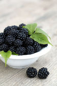 Close up of bramble fruit — Stock Photo