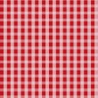 Red Seamless Grid Pattern Background - Stock Vector