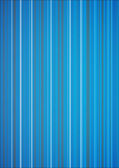 Blue Lit Vertical Stripes Background — Stock Vector