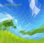 Mosaic background — Stock Vector