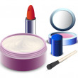 Stock Vector: Cosmetics