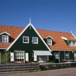 Wooden house on the island Marken, Holland - ストック写真