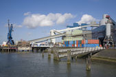 Factory in the Port of Rotterdam — Stock Photo