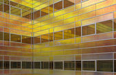 Glass wall of the office building La Defense, Almere, Holland — Stock Photo