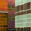Glass wall of an office building, Almere, Holland — Stock Photo