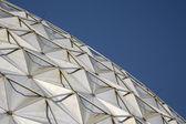 Modern architecture background of dome building in Holland — Stock Photo