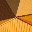 Architecture abstract of the Agora theater in Lelystad, the Netherlands — Stock Photo