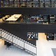 Modern interior of the Utrecht University library - Foto Stock