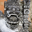 Stock Photo: Balinese temple sculpture
