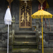 An entrance of a temple in a part of the Pura Besakih complex — Stock Photo