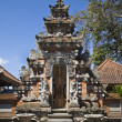 An entrance of a temple in Bali — 图库照片