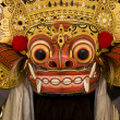 Traditional Barong mask in Bali,Indonesia — Stock Photo
