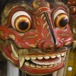 Traditional Barong mask in Bali,Indonesia - Stock Photo