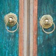 Detail of a Balinese door — Stock Photo #19281511