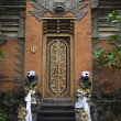 An entrance of a temple in Bali — Stock Photo
