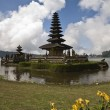 Hindu - Buddhist temple Ulan Danu Bratan in Bali, Indonesia — Stock Photo #19281925