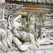Traditional stone carving in a temple in Bali — Стоковая фотография