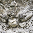 Traditional stone carving in a temple in Bali — Foto de Stock