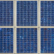 Background of modern solar panels — Stock Photo #19283953