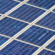 Background of modern solar panels — Stock Photo #19283963