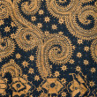 Detail of a batik design from Indonesia — Stock Photo #19286487