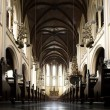 Interior of the Cathedral Jakarta, a Roman Catholic church in Jakarta, Indonesia — Stock Photo #19286703