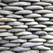 Stock Photo: Batu: Balinese pebble stone decoration