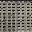 Stock Photo: Pattern of hotel balconies in Jakarta, Indonesia