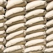 Stock Photo: Stack of cement bags in SundKelapa, Jakarta