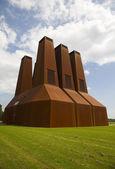 Power plant of the University of Utrecht, the Netherlands — Stock Photo