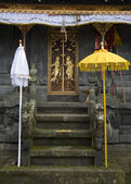 Una entrada de un templo en una parte de la pura besakih complejo — Foto de Stock