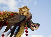 Colorful big Bali kite on a festival in Sanur — Foto de Stock