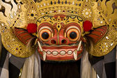 Traditionele barong masker in bali, indonesië — Stockfoto