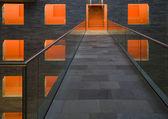 Interiér muzea zvuku a vize v bistru hilversum, nizozemsko — Stock fotografie