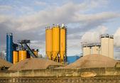 Endüstriyel alanda nijkerk, hollanda — Stok fotoğraf